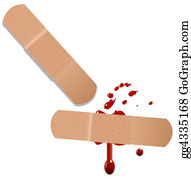 Band-Aid - First Aid Help Bandaid Blood