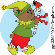 Cardinal-Bird - Christmas Bear