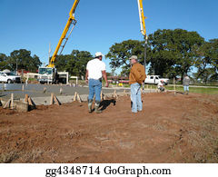 Concrete-Pump-Truck - Discussing The Foundation