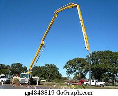 Concrete-Pump-Truck - Big Pump Cement Truck
