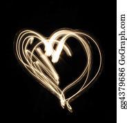 Flaming-Heart - Heart