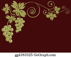 Grape-Leaf - Bunches Of Grapes