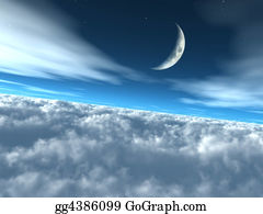 Heavenly - Above The Clouds Heavenly Lunar Sky