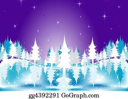 Fir-Tree - Winter Landscape