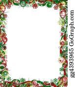 Christmas-Family - Festive Christmas Border