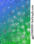Falling-Snow-Background - Slow Snow