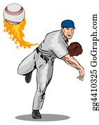 Baseball - Baseball Pitcher