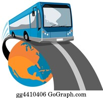 Bus-Drivers - Bus Coming Off Globe