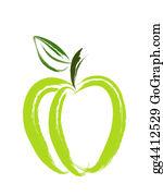 Paint-Brush - Apple Brush Art