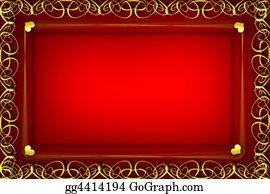 Valentine-Border-Hearts-Frame - Card