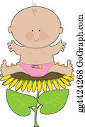 Safety-Pins-And-Diaper - Sunflower Baby Girl