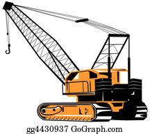 Roadworks - Crane
