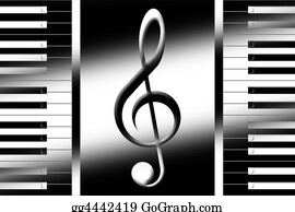 Music-Notes-On-Piano-Keyboard - Music