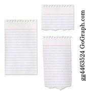 Ripped-Paper - Ripped Paper Notepad Collection