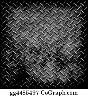 Sheet - Diamond Plate Metal Texture