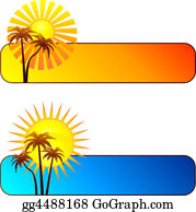 Palm-Tree - Summer Banners