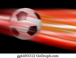 Football-Abstract - Kick