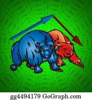 Text-Dividers - Bulls And Bear