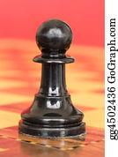 Pawn - Black Pawn