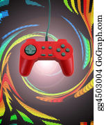 Computer-Nerd - Game Controller W Clipping Path