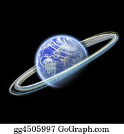 Rings - Glowing Earth