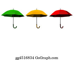 Umbrella - Three Umbrellas