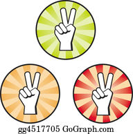 Hand-Sign - Peace Hand Sign