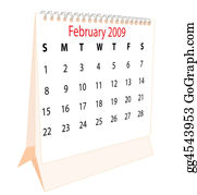 February - Calendar