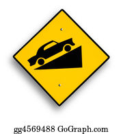 One-Direction-Road-Sign - Traffic Sign Isolated