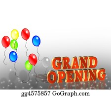 Announcement - Grand Opening Sign Template
