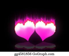 Passion - Flaming Hearts