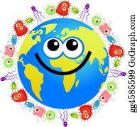 Germs - Bacteria Globe