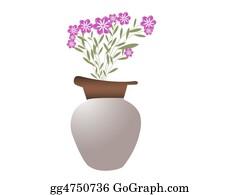 Flower-Pot - Pot With Beautiful  Flowers