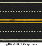 Street-Race - Seamless Road Background Texture