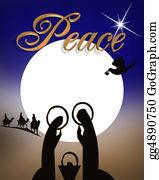 Christmas-Family - Christmas Nativity Scene