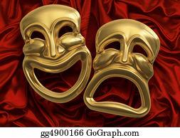 Perform - Comedy Tragedy Masks