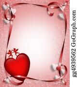Valentine-Border-Hearts-Frame - Valentine Border