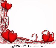 Valentine-Border-Hearts-Frame - Valentine Border Hearts