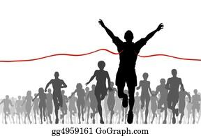 Runners - Finishing Line