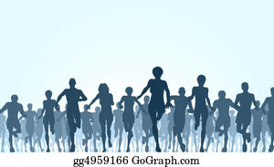 Group-Of-People - Running Crowd