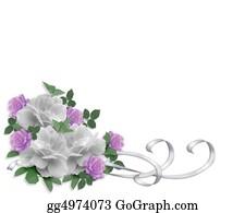 Valentine-Border-Hearts-Frame - Wedding Invitation Border Roses