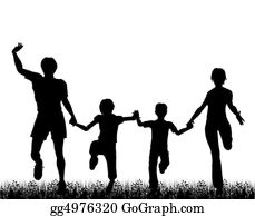 Illustration-With-Happy-Family - Family Fun