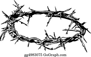 Orthodox - Crown Of Thorns Vector Illustration