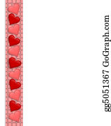 Valentine-Border-Hearts-Frame - Valentine Border Hearts Frame