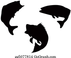 Largemouth-Bass - Bass Silhouette