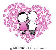 Unusual-Valentine - Valentine Couple In A Heart