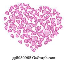 Unusual-Valentine - Pink Hearts