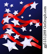Veterans-Day - Stars And Stripes Patriotic Background