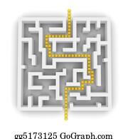 Lane - Path Through Labyrinth