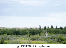 Prairie - Teepee Frame Landscape